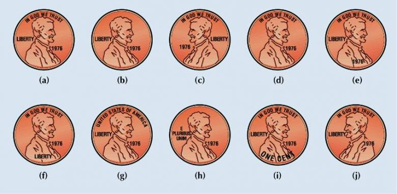 penny faces